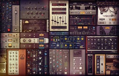 "Universal Audio UAD 2 ""Ultimate 6"" 95 Plugins Bundle for Apollo, Twin, Satellite"