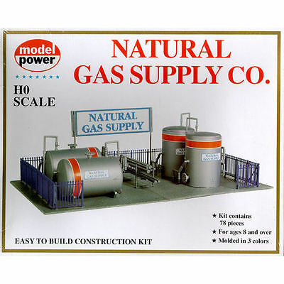 Model Power Natural Gas Supply Co. Building Kit Kit HO Scale - Free Shipping
