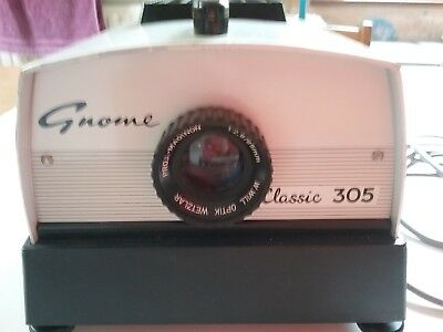 Vintage Gnome Classic 305 Slide Projector.