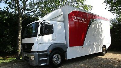 MERCEDES 18 TON Axor 1823 Race Truck / Motorhome Or Ideal Exhibition Lorry