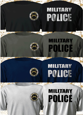New Army US America Military Police Special Squad Multicolor T-Shirt S-4XL