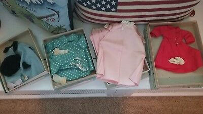Vintage Madame Alexander Doll Clothes in Original Box Lot of 3
