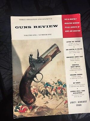 Guns Review Magazine Vol 1 No 1 -Valuable 1st Edition July/August 1960