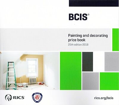 BCIS Painting and Decorating Price Book 2018