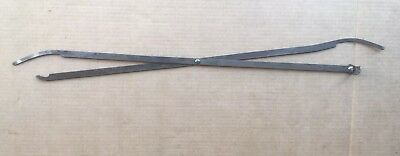 """Globe Wernicke Stacking Barrister Bookcase 24"""" Scissors (1005) Dated 1905"""