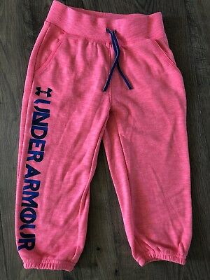 Under Armour Girls Youth Size Small Capris