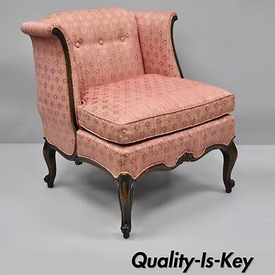 Knapp & Tubbs Kenilworth French Country Louis XV Style Boudoir Accent Side Chair