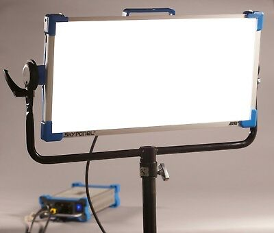 Used Arri SkyPanel S60-C LED w/ low hrs, Chimera, 60 degree Grid, Remote & Case
