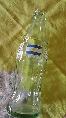 Vintage Coke Coca-Cola Classic bottle 1986 1991 USA World Cup 1994 Argentina