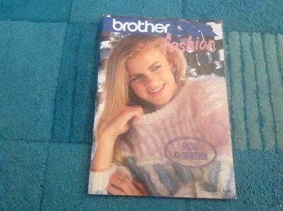 Brother Fashion Machine Knitting Booklets Good Condition