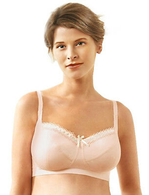 6489aeeabb PANACHE ALISHA NURSING Bra Maternity Drop Cup Feeding 98% Cotton ...