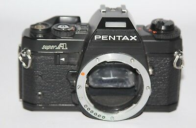 Pentax Super A - 1983 35mm SLR Camera - Body Only - Spares/Repair