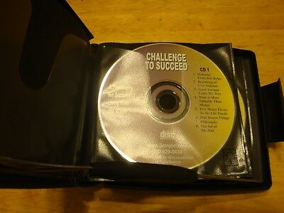 Challenge to Succeed - 6 Cds - by Jim Rohn - Good Condition- Ship within 24 hrs