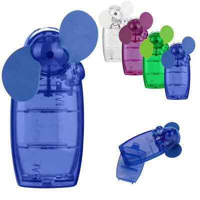 New Mini Portable Pocket Fan Cool Air Conditioner Hand Held Battery Travel Blowe
