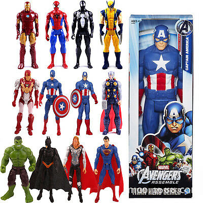 DC Comics Marvel Figur The Avengers Superheld Spiderman Action Figuren Spielzeug