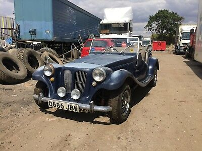 Pilgrim Bulldog Sports Car 1800 Running Project - Barn Find