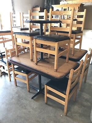 Good Used Restaurant Table And Chairs For Sale Make A Good Offer .