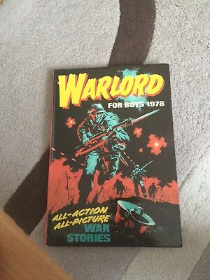 Vintage Warlord For Boys Annual Dated 1978