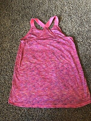 Kids tank top, really cute and lose fitting, mostly pink and perfect for summer