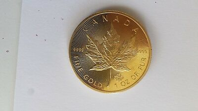 Goldmünze Kanada 2015 Maple Leaf 999,9er Gold 1 oz (1 Unze) CANADA