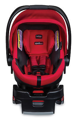 Britax B Safe 35 Elite Infant Car Seat In Red Pepper