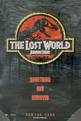 JURASSIC PARK LOST WORLD MOVIE POSTER 2 Sided ORIGINAL Advance 27x40 SPIELBERG