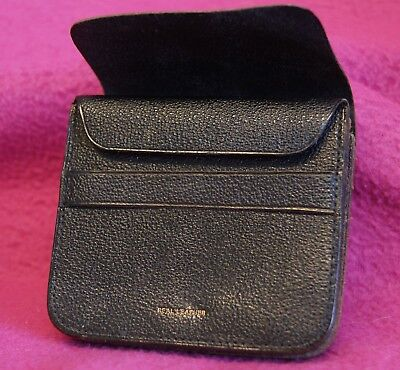 Vintage Real Leather Mens Coin Purse