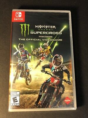 Monster Energy Supercross [ The Official Videogame ] (Nintendo Switch) NEW