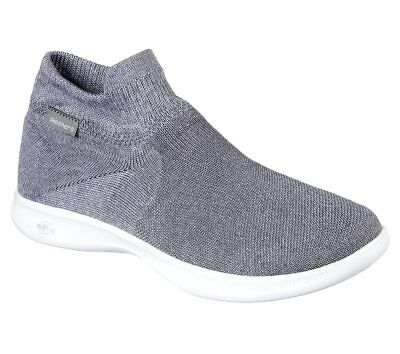 35a9c668ddfb New Womens Skechers Go Step Lite Ultrasock Shoe Style 14507 Gray 81F dr