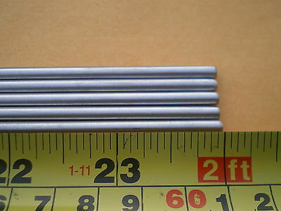 "3  Stainless Steel Round Rod 304, 5/32"" (.156"") (4Mm.) X 24"" Long"