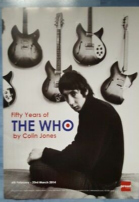 Pete Townshend  The Who guitar poster