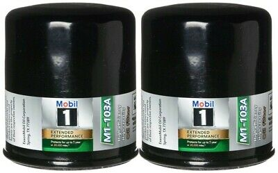 Mobil 1 Oil Filter >> Mobil 1 M1 103a Extended Performance Oil Filter Pack Of 2