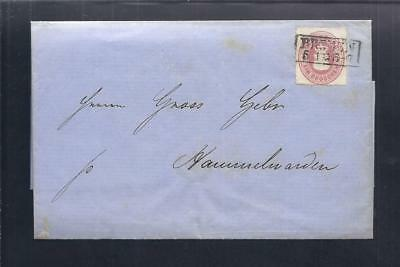 Oldenburg - Brief Bremen - Hammelwarden 1863      R1