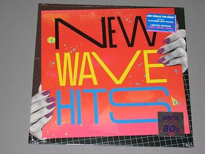 VARIOUS New Wave Hits LP (Pink Swirl Vinyl) Back to the 80s New Sealed Vinyl