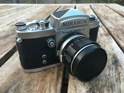 Fantastic Vintage Miranda Camera With  1:1.9 Lens