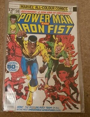 Power Man & Iron Fist #50 UK VERSION EXCELLENT CONDITION