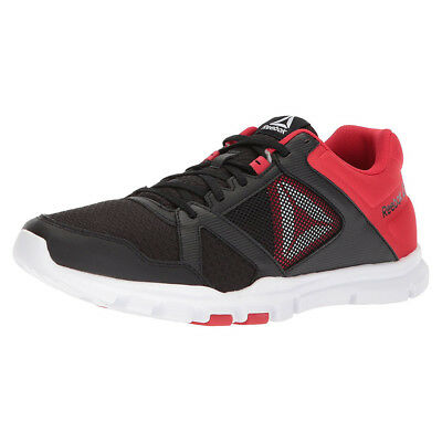 REEBOK YOURFLEX TRAIN 10 Mt Black Primal Red Bs9871 Mens Us Sizes ... abd3c39c8