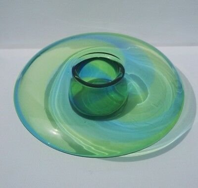 Stevens and Williams Rainbow Posy Bowl