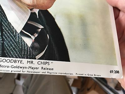 Goodbye Mr Chips movie lobby card 69/208 Peter O'Toole