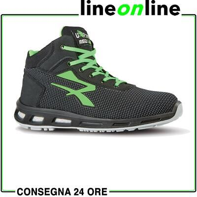 Scarpe antinfortunistiche U Power Hard S3 SRC Red Lion leggere e traspiranti