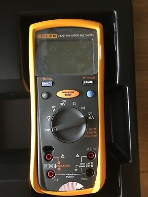 New fluke insulation test meter 1577 With Leads And Instructions