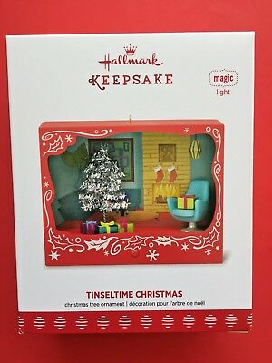 Hallmark 2017 Tinseltime Christmas Lighted Ornament