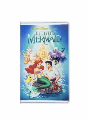 Disney Parks The Little Mermaid VHS Cover Blank Book Journal Diary NEW