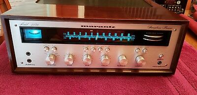 Vintage Marantz Model 2230 Stereo Receiver in wood case. fully serviced