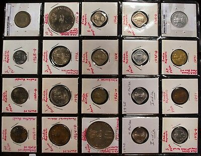 INDIA REPUBLIC collection of 20 coins {#2}
