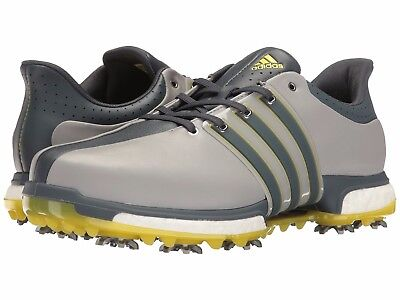 NEW MEN S ADIDAS TOUR 360 Boost Golf Shoes Onix Q44845 Size 13 ... b5e4ca2bd