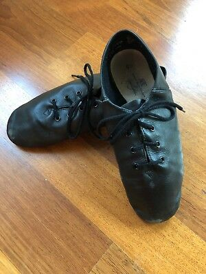 ABT AMERICAN BALLET Theatre Leather Jazz Dance ShoesBLACK Womens - Abt shoes