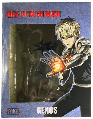 NEW Genos XTRA 1/10 Scale Figure One Punch Man Tsume Anime Authentic