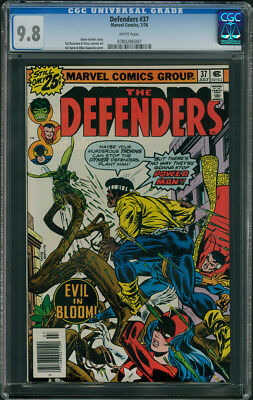 Defenders #37 CGC 9.8 - White Pages