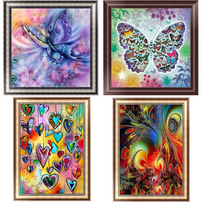 Abstract Butterfly DIY 5D Diamond Painting Embroidery Cross Stitch Home Decor